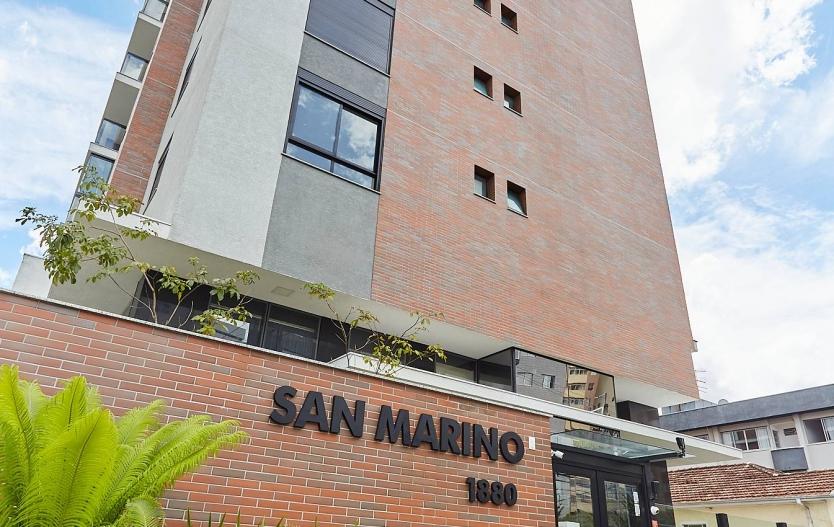 Apartamento com três dormitórios  á venda na Vila Izabel - Edifico San Marino