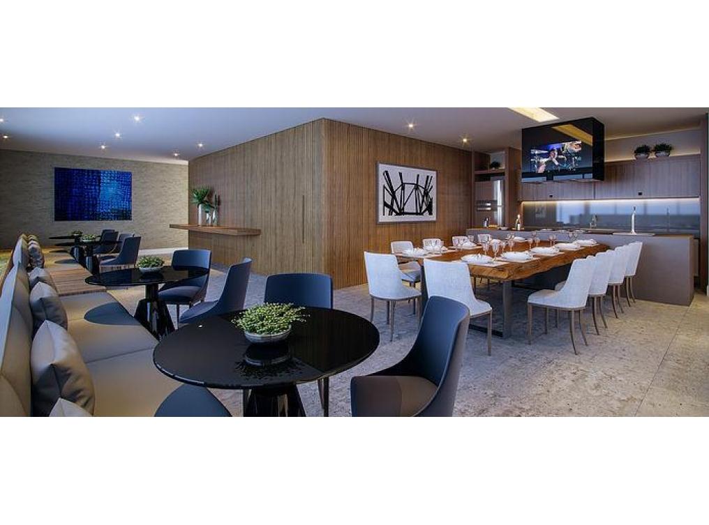 Apartamento com 4 suítes (4 Garagens) à venda - Batel - Curitiba