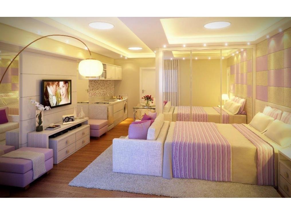 Apartamento 1 Quarto à venda - Corporate Centro Cívico - Centro Cívico