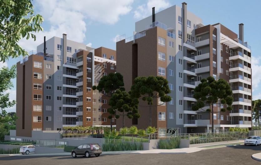 Residencial Biazetto, Apartamento de 03 quartos e 2 vagas de garagem + depósito a venda  no Ecoville a partir de R$ 748.884,00
