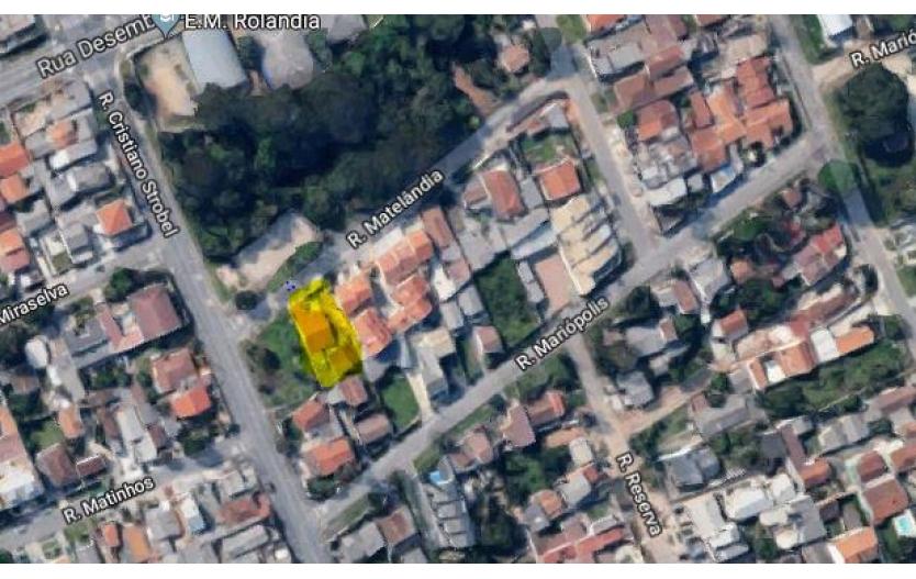 Terreno com 3 Casas à venda - Boqueirão - Curitiba/PR