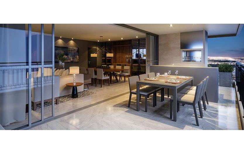 Apartamento 4 suítes (4 Vagas de Garagem) à venda - Rio Rhone - Batel - Curitiba/Pr.