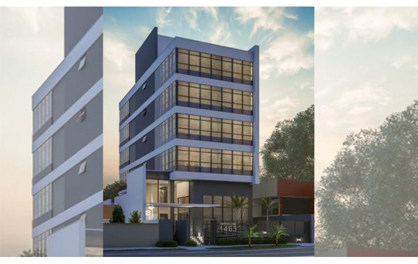 Sala Comercial (2 Garagens Privativa) à venda - MONZA OFFICES - Centro Cívico - Curitiba/PR