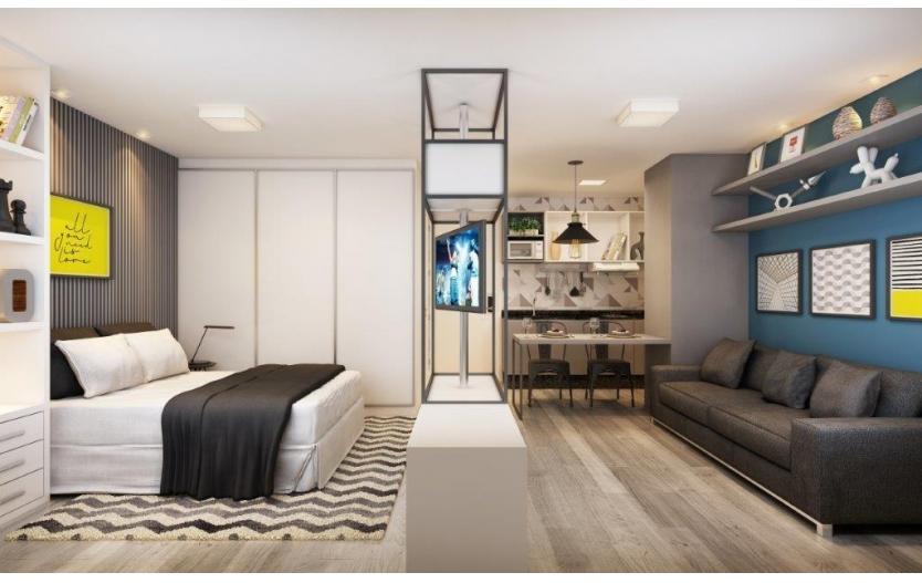 Studio 1 dormitório à venda - All You Need - Centro - Curitiba/PR