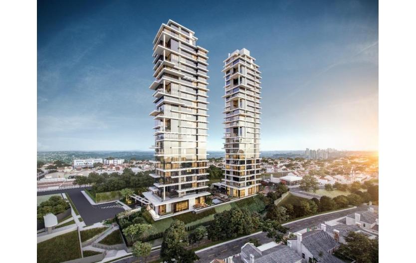 Apartamento à Venda com 4 dormitórios (4 suítes) e 4  Vagas de garagem - Mai Terraces - Ecoville - Curitiba